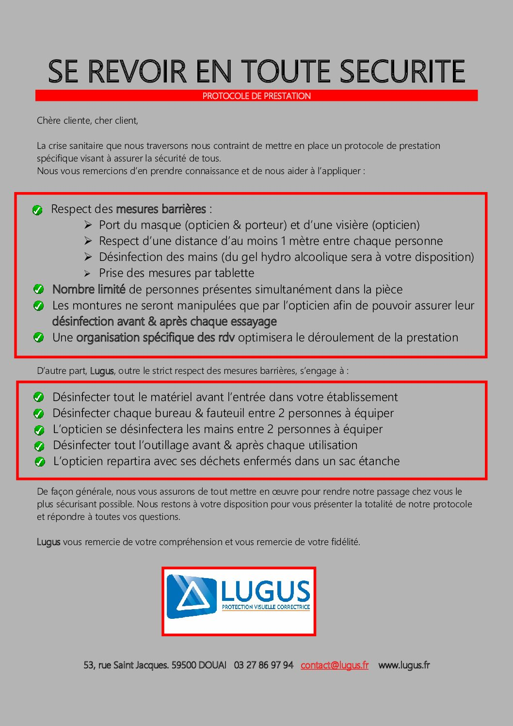 Protocole LUGUS